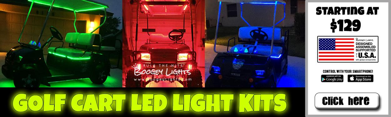 Golf Cart LED Light Kits