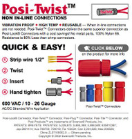 Posi-Twist Connector