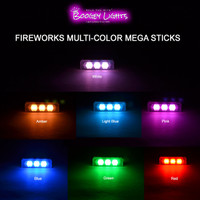 Fireworks Multi-Color MEGA Stick