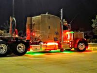 Semi-Truck 56 LED Accent Lighting Kit - Single Color