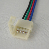 Crimp On Wire Connector for RGB LED Strip