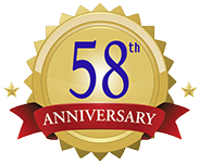58th Birthday Anniversary Seal