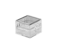 Hinged Lid Plastic Boxes