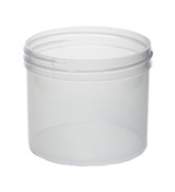 4 oz Natural Plastic Jar REGULAR WALL 4-70-NPPC