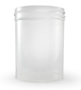4.5 oz Natural Plastic Jar REGULAR WALL 4.5-58-NPPC