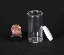 7 Dram Clear Plastic Vial