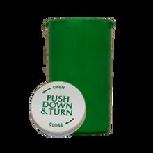 40 Dram Green Prescription Pill Bottle PCR40NG