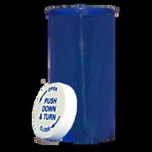 60 Dram Blue Prescription Pill Bottle PCR60NB