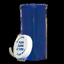 16 Dram Blue Prescription Pill Bottle PCR16NB