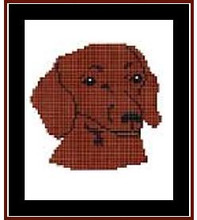 "Dachshund, Red Crochet Afghan Graph Pattern.  All done in single crochet, changing colors as you go along.  Drop one color, pull in the next.  Medium ability.  Size works up to be approx. 40 x 60"".  Graph is 64 stitches wide by 104 stitches high.  Then you crochet 22 rows (or more) around the outside edge including a border.  Complete instructions are included, a full size graph, and a Helpful Hints page. DOWNLOAD will be emailed to you within the Order Confirmation.  Just click ""Download Files"" and Enjoy!"