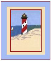 "Lighthouse Crochet Afghan Graph Pattern.  All done in single crochet, changing colors as you go along.  Drop one color, pull in the next.  Medium ability.  Size works up to be approx. 40 x 60"".  Graph is 64 stitches wide by 104 stitches high.  Then you crochet 22 rows (or more) around the outside edge including a border.  Complete instructions are included, a full size graph, and a Helpful Hints page. DOWNLOAD WILL BE SENT TO YOU WITH ORDER CONFIRMATION."