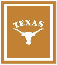 "Texas Longhorns Crochet Afghan Graph Pattern.  All done in single crochet, changing colors as you go along.  Drop one color, pull in the next.  Medium ability.  Size works up to be approx. 50 x 70"".  Graph is 100 stitches wide by 140 stitches high.  Then you crochet 22 rows (or more) around the outside edge including a border.  Complete instructions are included, a full size graph, and a Helpful Hints page. DOWNLOAD will be emailed to you within 20 minutes of order completion.  Just click on ""Download Files"".  Or, if you rather have it Mailed to you, put a note in the order. Enjoy!"