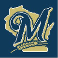 "Milwaukee Brewers Crochet Afghan Graph Pattern.  All done in single crochet, changing colors as you go along.  Drop one color, pull in the next.  Medium ability.  Size works up to be approx. 50 x 70"".  Graph is 100 stitches wide by 140 stitches high.  Then you crochet 22 rows (or more) around the outside edge including a border.  Complete instructions are included, a full size graph, and a Helpful Hints page. DOWNLOAD OR EMAIL ME IF YOU WANT IT MAILED."