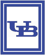 "University of Buffalo Logo Crochet Graph Afghan Pattern.  All done in single crochet, changing colors as you go along.  Drop one color, pull in the next.  Medium ability.  Size works up to be approx. 50 x 70"".  Graph is 120 stitches wide by 160 stitches high.  Then you crochet 22 rows (or more) around the outside edge including a border, if you would like it larger.  Complete instructions are included, a full size graph, and a Helpful Hints page. Download will be emailed to you within 20 minutes in your Confirmation.  Just click ""Download Files"".  If you'd rather have it mailed to you, email Janet.  Enjoy!"