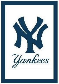 New York Yankees Crochet Afghan Graph Pattern DOWNLOAD ...