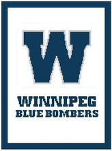 "Winnipeg Blue Bombers Logo Crochet Graph Afghan Pattern.  All done in single crochet, changing colors as you go along.  Drop one color, pull in the next.  Medium ability.  Size works up to be approx. 50 x 70"".  Graph is 100 stitches wide by 140 stitches high.  Then you crochet 22 rows around the outside edge including a border, if you would like it larger.  Complete instructions are included, a full size graph, and a Helpful Hints page. DOWNLOAD WILL BE SENT TO YOU WITH ORDER CONFIRMATION. ENJOY!"
