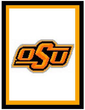 "Oklahoma State University Crochet Afghan Graph Pattern.  All done in single crochet, changing colors as you go along.  Drop one color, pull in the next.  Medium ability.  Size works up to be approx. 50 x 70"".  Graph is 100 stitches wide by 140 stitches high.  Then you crochet 22 rows (or more) around the outside edge including a border.  Complete instructions are included, a full size graph, and a Helpful Hints page. DOWNLOAD will be emailed to you within 20 minutes of completion of order.  Just click on ""Download Files"".  IF YOU WOULD  RATHER HAVE IT MAILED TO YOU, EMAIL ME."