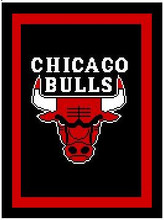 """Chicago Bulls Crochet Afghan Graph Pattern.  All done in single crochet, changing colors as you go along.  Drop one color, pull in the next.  Medium ability.  Size works up to be approx. 50 x 70"""".  Graph is 100 stitches wide by 140 stitches high.  Then you crochet 22 rows (or more) around the outside edge including a border.  Complete instructions are included, a full size graph, and a Helpful Hints page. DOWNLOAD WILL BE EMAILED TO YOU INSIDE YOUR ORDER CONFIRMATION.  Just click """"Download Files"""" and Enjoy!"""