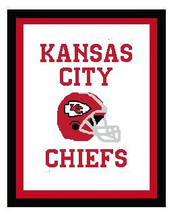 "Kansas City Chiefs Crochet Graph Afghan Pattern.  All done in single crochet, changing colors as you go along.  Drop one color, pull in the next.  Medium ability.  Size works up to be approx. 50 x 70"".  Graph is 144 stitches wide by 191 stitches high.  Then you crochet 22 rows around the outside edge including a border, if you would like it larger.  Complete instructions are included, a full size graph, and a Helpful Hints page. Download will be emailed to you as a pdf within your Order Confirmation.  Just click ""Download Files"" and Enjoy!"