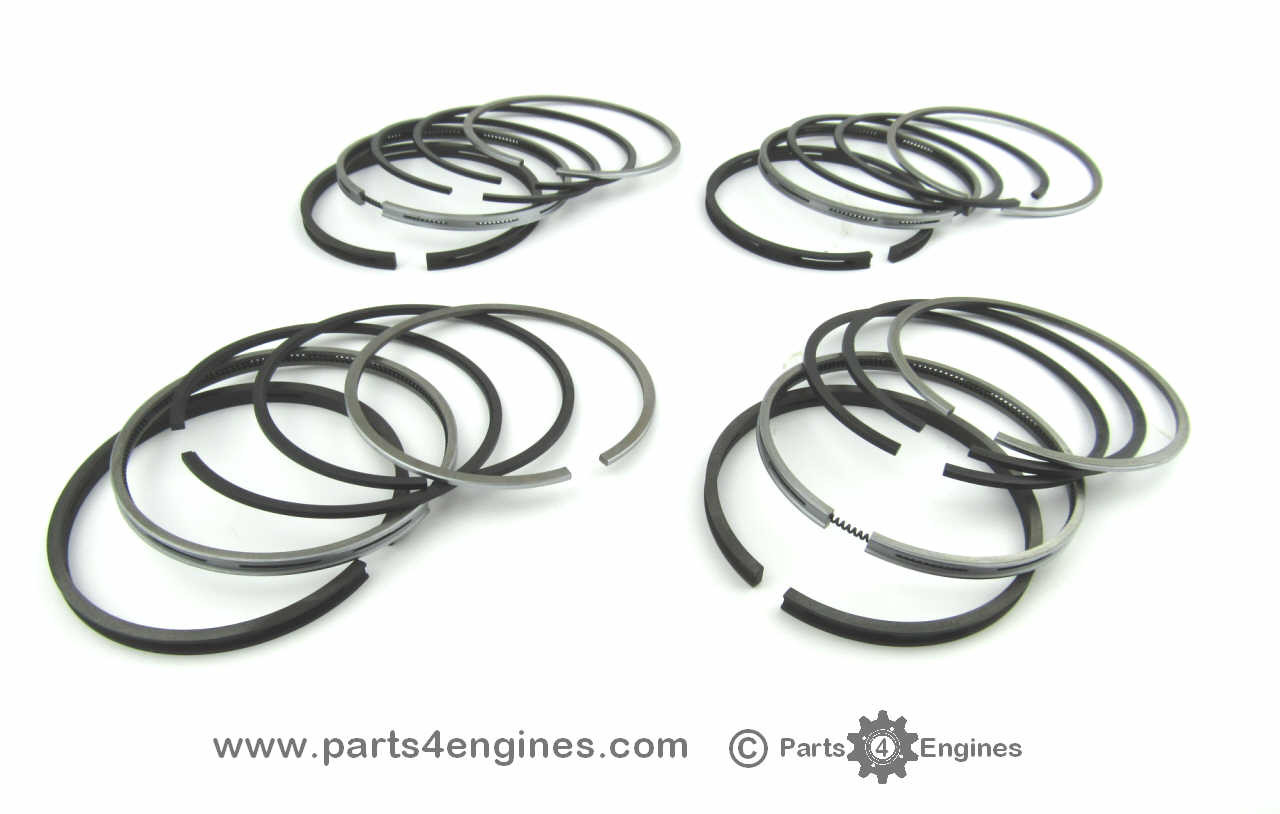 Perkins 4.236 piston ring set