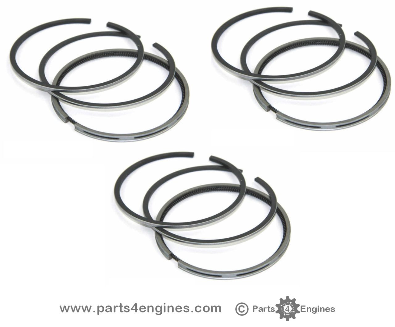 Perkins 100 Series Perama M30 & 103.10 Piston ring set