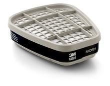 3M 6001 OV Cartridge For 3M Respirators Case 30 2-Packs