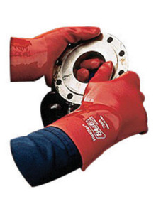 Showa Best 728R Hustler Red PVC Elbow Length 1 Dozen