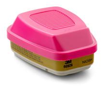 3M 60926 P100/Multigas Cartridge 2-Pack For Respirator