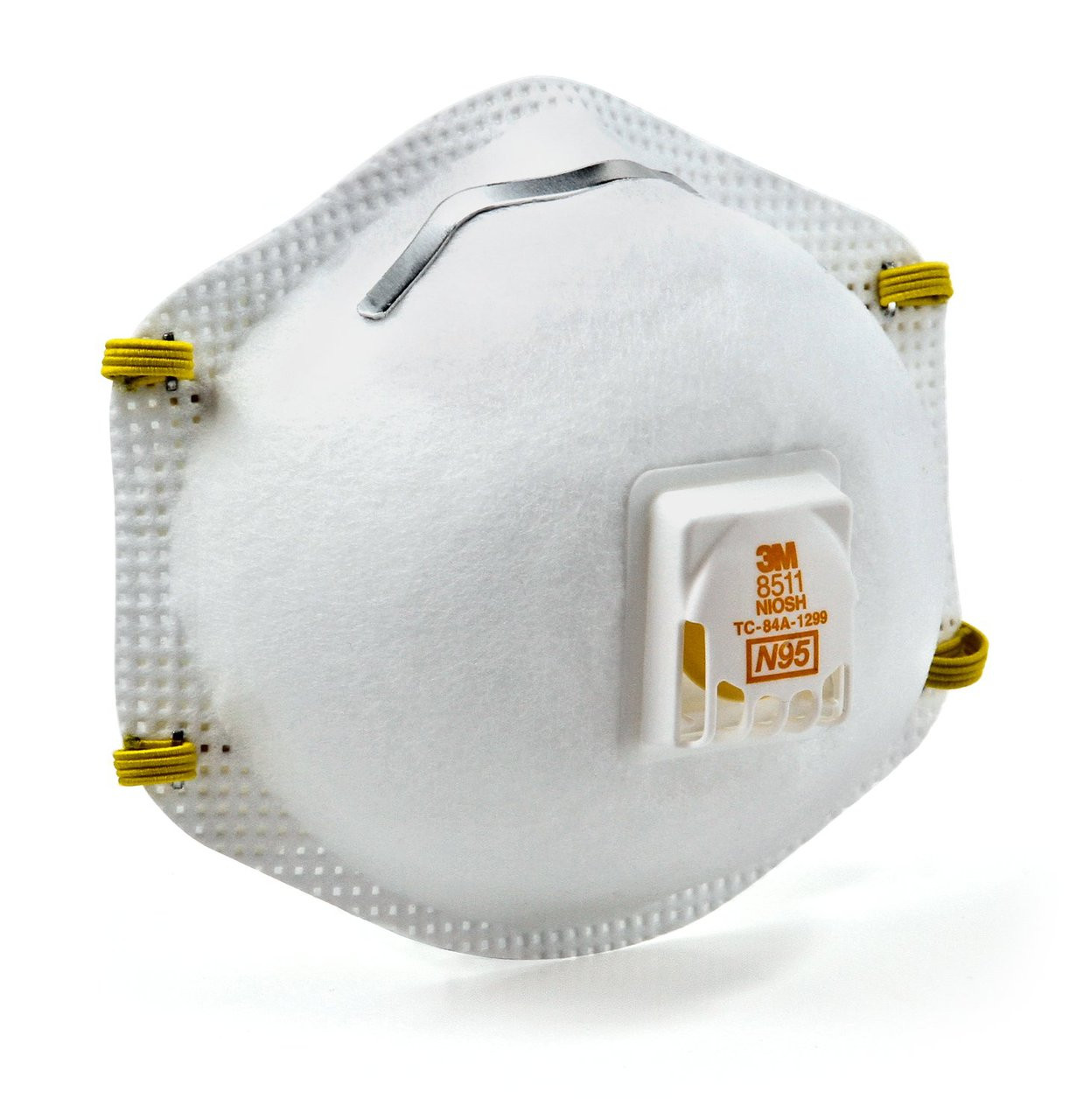 3M 8210V N95 Exhalation Valve Disposable Respirator Masks, 10/Box ...