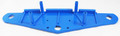 AQUA PRODUCTS | SIDE PLATE (Blue, 8 holes, 4 for Bolts, 4 for Piston Clamps) - Aquabot Turbo Solo / RC | S3400B-8H