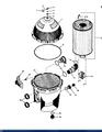 PENTAIR    BAFFLE KIT W/ SCREWS   23910-0013S