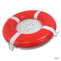 "MAINTENANCE LINE | 20"" ORANGE FOAM RING BUOY CGA 