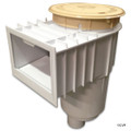 "HAYWARD | SKIMMER W/FLT VLV TAN 2""THREADED 