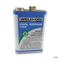 PVC GLUE | GLUE GRAY MB 1 GALLON | 744 | 13558 | 744