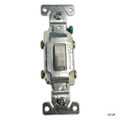 ELETRICAL | 15 AMP COMM GROUNDED SINGLE POLE | TOGGLE SWITCH WHITE | CSB115STW--SP