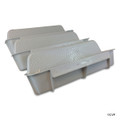 CUSTOM MOLDED PRODUCTS | GRAY POOL WALL STEP WHITE (3/SET) | 25578-000-000