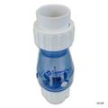 "SUPER PRO | PVC | UNION CHECK VALVE SWING SPRING | CLEAR (1/2#) 1-1/2"" | SP0823-15C"