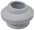 "SUPER PRO | HYDROSTREAM 1"" WHITE, WALL RETURN EYE BALL FITTING 