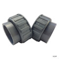 "RAY PAK | CONNECTOR 2"" PVC AND NUT 2/SET 