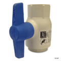 "PVC SPEARS BALL VALVES | 1"" MOLDED PVC BALL VALVE 