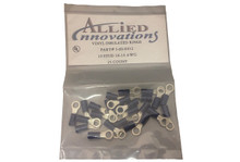 Electro Specialties | WIRE TERMINAL | RING - #16-14 - 10 STUD - BLUE (25/BAG) | RV10B