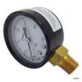 "Generic | Pressure Gauge 1/4""Mpt, 0-60psi, Bottom Mount 