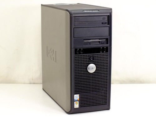 Dell P4 HT 3.2 GHz, 1 GB RAM, 160GB Hard Drive Tower (Optiplex GX520)