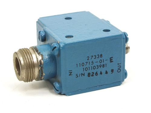Blue RF Isolator- 27338 (110715-01)