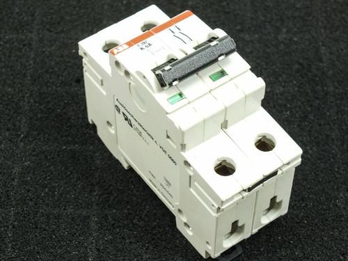 ABB S282-K6W K6A S282 480Y/277 VAC 10kA 2 Pole Circuit Breaker