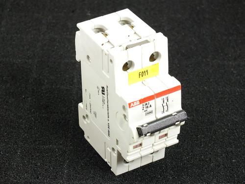 ABB Z16A S282 2 Pole Circuit Breaker (S282UC-Z16)