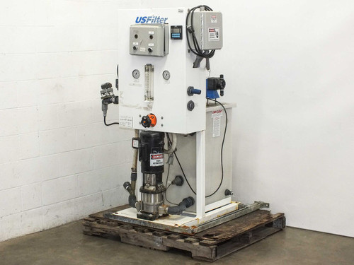 USFilter Aquasaver Water Filter Baldor Motor, Pulsatron Pumps and Tank