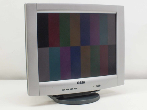 "GEM L51B 15"" LCD Monitor VGA"