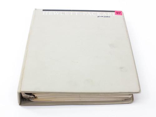 HP 3325B  Synthesizer/Function Generator Operating Manual