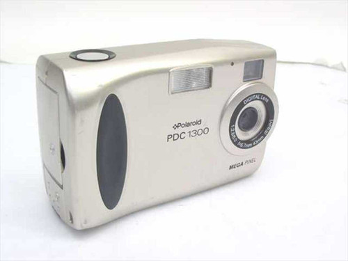 Polaroid PDC-1300  Digital Camera 1.3 Megapixel 2x Digital Zoom - AS IS